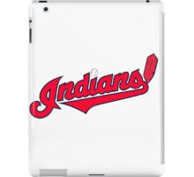 INDIANS BASEBALL TEAM iPad Case/Skin