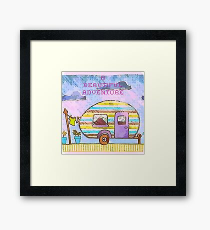A Beautiful Adventure Framed Print