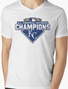 KANSAS CITY THE CHAMPIONS Mens V-Neck T-Shirt