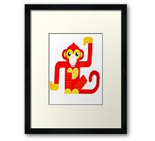 The Year of The Monkey  Framed Print