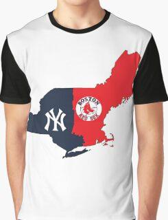 NY YANKEES X BOSTON RED SOX Graphic T-Shirt