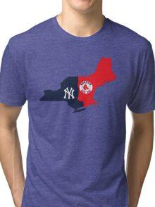 NY YANKEES X BOSTON RED SOX Tri-blend T-Shirt