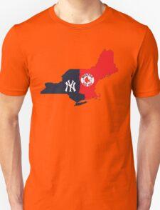 NY YANKEES X BOSTON RED SOX Unisex T-Shirt