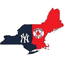 NY YANKEES X BOSTON RED SOX Photographic Print