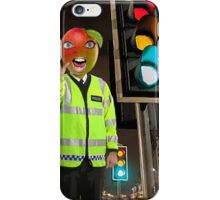 Mango Head Traffic Cop iPhone Case/Skin