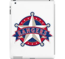 TEXAS RANGERS LOGO iPad Case/Skin