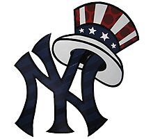 NEW YANKEES LOGO Photographic Print