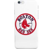 BOSTON RED SOX BASIC LOGO iPhone Case/Skin