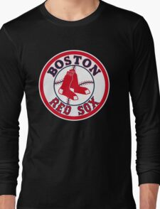 BOSTON RED SOX BASIC LOGO Long Sleeve T-Shirt