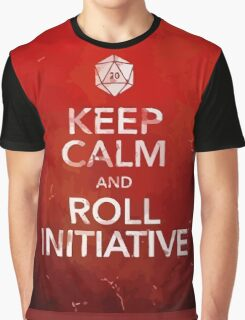 D&D Keep Calm Graphic T-Shirt