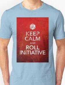 D&D Keep Calm Unisex T-Shirt