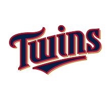 MINNESOTA TWINS LOGO Photographic Print