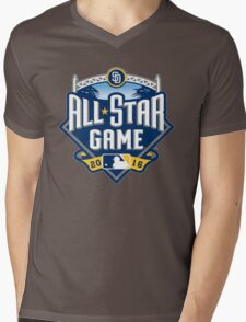 MLB ALL STAR GAME 2016 Mens V-Neck T-Shirt