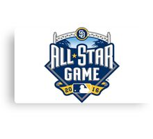 MLB ALL STAR GAME 2016 Canvas Print