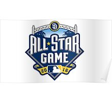 MLB ALL STAR GAME 2016 Poster