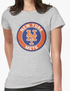 NEW YORK METS LOGO Womens Fitted T-Shirt