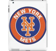 NEW YORK METS LOGO iPad Case/Skin