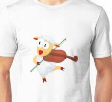 Happy lamb Unisex T-Shirt