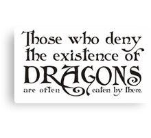 Dragons! Canvas Print