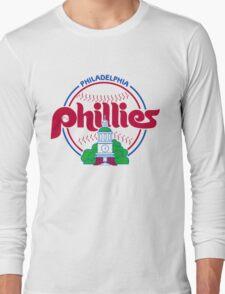 PHILIES LOGO Long Sleeve T-Shirt