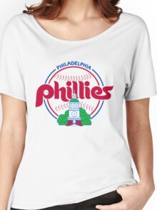 PHILIES LOGO Women's Relaxed Fit T-Shirt