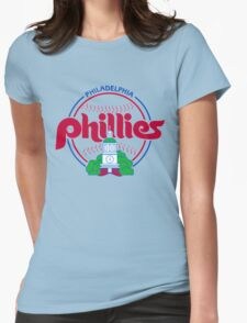 PHILIES LOGO Womens Fitted T-Shirt