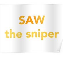 Saw The Sniper Poster
