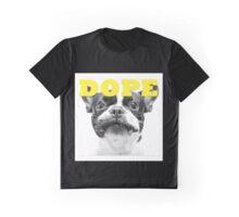 FRENCH BULLEDOG WHITE DOPE YELLOW Graphic T-Shirt
