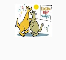 Cartoon of two kangaroos dancing together at disco Unisex T-Shirt