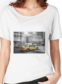 New York Collage 2 Women's Relaxed Fit T-Shirt