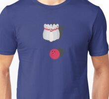cone with bowling ball Unisex T-Shirt
