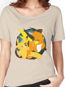 Raichu badge Women's Relaxed Fit T-Shirt