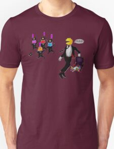 Running PAC-Man Unisex T-Shirt
