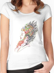 Art of Letting Go Women's Fitted Scoop T-Shirt