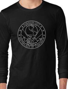 Paragon City - Birthplace of Tomorrow Long Sleeve T-Shirt