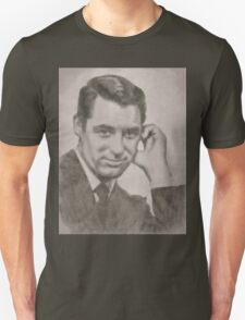 Cary Grant Hollywood Icon by John Springfield T-Shirt