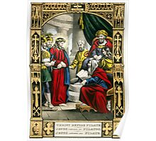Christ before Pilate - 1847 - Currier & Ives Poster