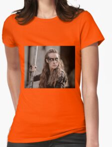 The 100 - Lexa (3x04) Womens Fitted T-Shirt