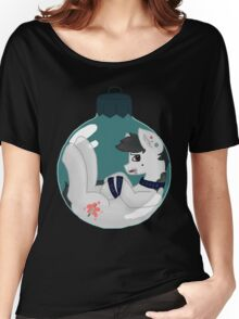 Pony in a xmas ball Women's Relaxed Fit T-Shirt