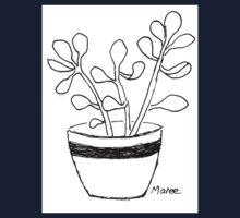 Succulent love (Echeveria seedlings) Kids Tee