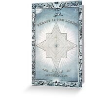 Christ is our light - Our star of redemption - 1849 - Currier & Ives Greeting Card