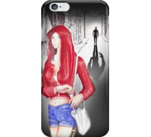 deadly little red riding hood iPhone Case/Skin
