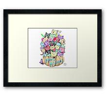 Maru Minions Framed Print