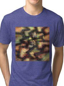 Broken textures by rafi talby Tri-blend T-Shirt