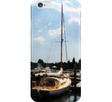 Docked Cabin Cruiser iPhone Case/Skin