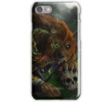 Werewolf evocation iPhone Case/Skin