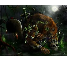 Werewolf evocation Photographic Print