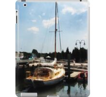 Docked Cabin Cruiser iPad Case/Skin