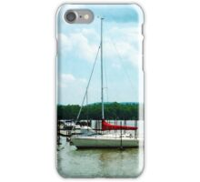 Docked On The Hudson River iPhone Case/Skin