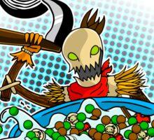 Sugar Crows Cereal Sticker